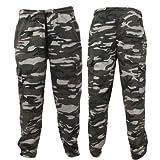 Mens Military Camouflage Design Jogging Bottoms/Jog Pants