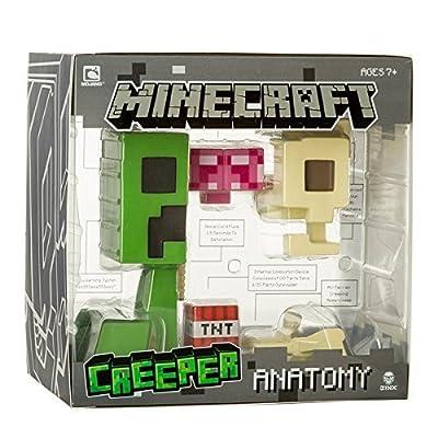 Minecraft Creeper Anatomy Deluxe Vinyl Figure from Jinx