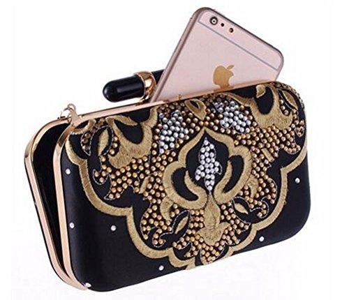 9a9a62659a luzuzi sera borsa donna borsa da donna catena Frizione Sacchetti ...