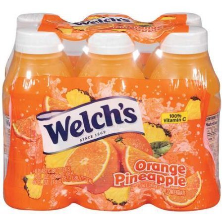 Welch's Single Serve Orange Pineapple Juice, 6 Ct, 10 fl oz (Single Serve Orange Juice compare prices)