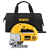 DEWALT DW317K 5.5 Amp Top Handle Jig Saw Kit (Color: Yellow, Tamaño: Pack of 1)