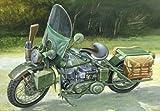 イタレリ 7401 1/9 アメリカ軍オートバイWWII