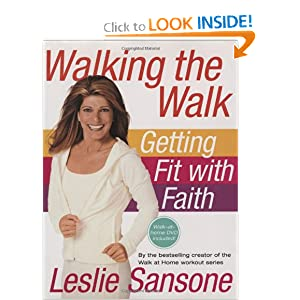 Click to buy Lose Weight Walking: Walking the Walk (w/DVD): Getting Fit with Faith  from Amazon!
