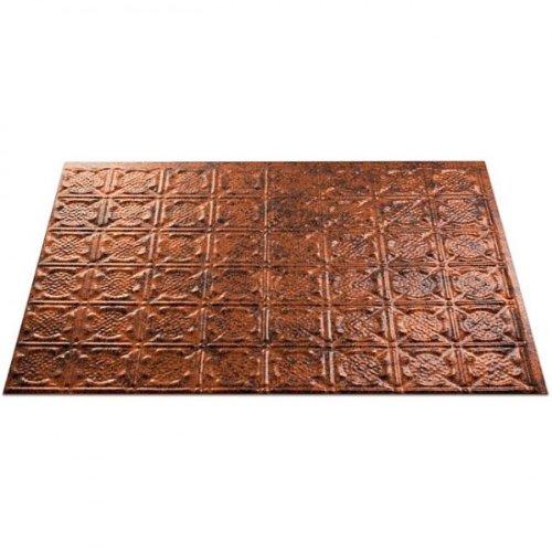 Fasade Traditional 6 Moonstone Copper Backsplash Kit