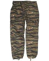 US Tiger Stripe Vietnam War Trousers - Ripstop American BDU Combat Fatigues