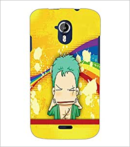 PrintDhaba Cartoon D-5794 Back Case Cover for MICROMAX A116 CANVAS HD (Multi-Coloured)