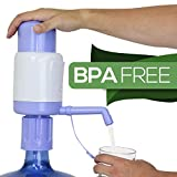 TeraPump TRPMW200 Universal Manual Drinking Water Pump, Fits Any Bottle, Excluding Glass