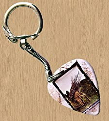 Led Zeppelin 4 Premium Guitar Pick Keyring