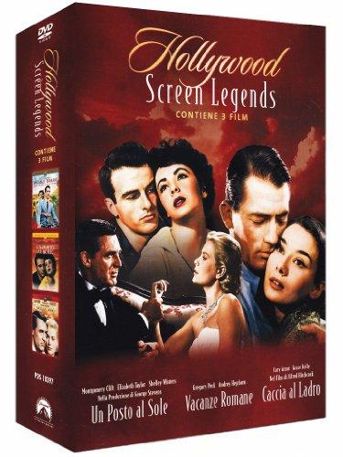 Hollywood screen legend - Un posto al sole + Vacanze romane + Caccia al ladro [3 DVDs] [IT Import]