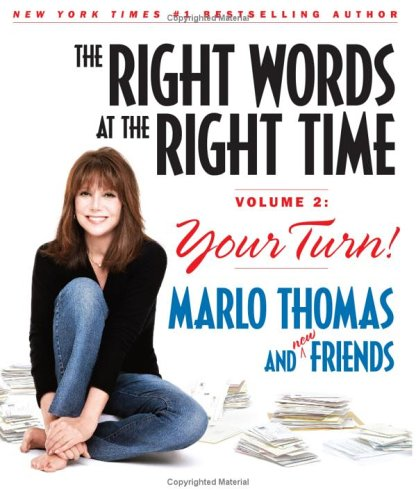Image for The Right Words at the Right Time Volume 2: Your Turn!