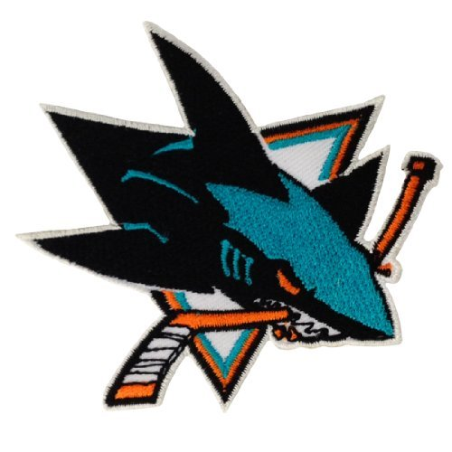 San Jose Sharks Logo Embroidered Iron Patches (Sharks Patch compare prices)