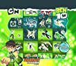 Ben 10 Boxed Set 200 Reusable Stickers [Toy]