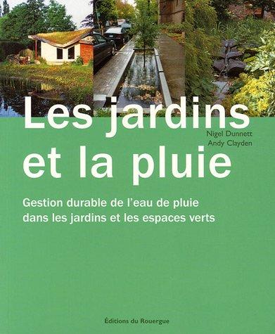 Le pdf gratuit et libre les jardins et la pluie gestion for Les espaces verts pdf