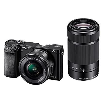 Sony ILCE-6000Y Digital E-mount Camera (With SELP1650 & SEL55210 Lens) Image