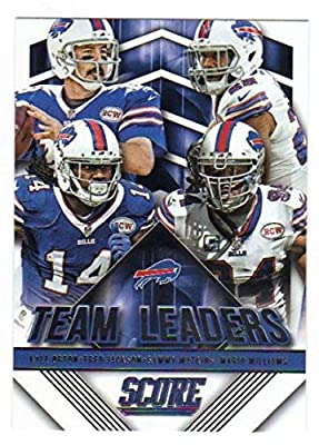 2015 Panini Score Football Team Leaders #2 Buffalo Bills NM to Mint or Better