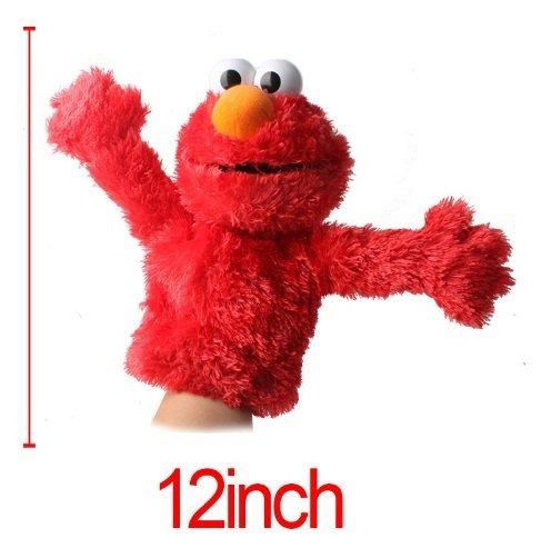 [SESAME STREET SOFT PLUSH DOLL toys hand puppet Elmo / Grover Stuffed toys for children] (Ernie From Sesame Street Costume)