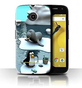 PrintFunny Designer Printed Case For Motorola Moto E