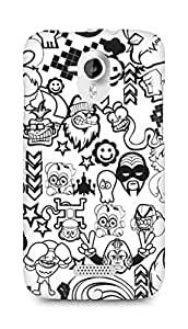 Amez designer printed 3d premium high quality back case cover for Micromax Canvas HD A116 (Zed Duo Comics Characters)