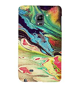 PrintVisa Painting Pattern 3D Hard Polycarbonate Designer Back Case Cover for Samsung Galaxy Note Edge