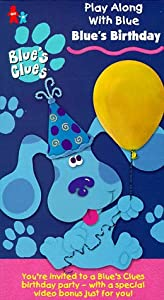 Blues Clues - Blues Birthday Vhs from Nickelodeon Network