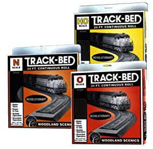 Woodland Scenics Woodland Scenics Ho Scale Track Bed Roll