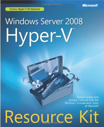 Windows Server® 2008 Hyper-V(TM) Resource Kit (Windows Nt Resource Kit compare prices)