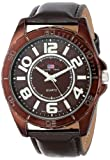 U.S. Polo Assn. Classic Men's US5161 Brown Dial Brown Strap Watch