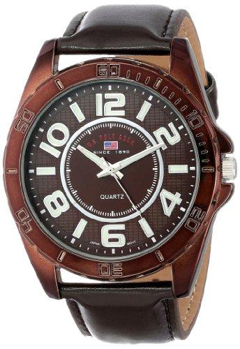 U.S. Polo Assn. Classic Men'S Us5161 Brown Dial Brown Strap Watch