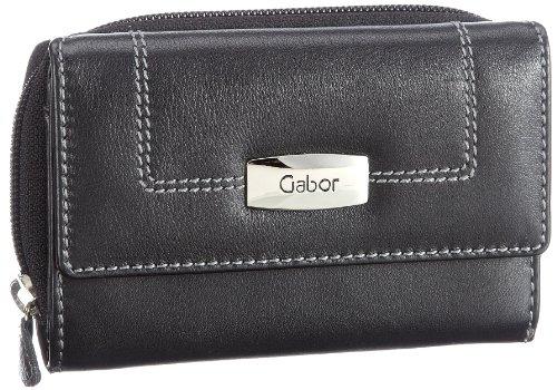Gabor Monza Wallets Womens Black Schwarz (schwarz 60) Size: 15x10x3 cm (B x H x T)