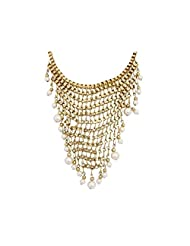 Mess With Pearls Necklace By Crunchy Fashion