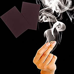 Gaobei 5pcs/lot Close-up Magic Gimmick Prop Fantasy Finger Tips Smoke Hell Smoke Trick