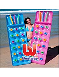 Bestway Inflatable 18 Pocket Sun Lounger