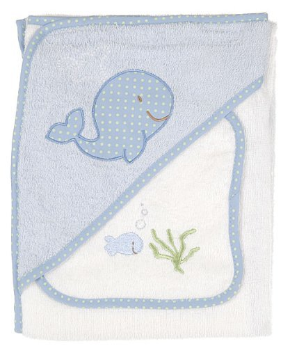 Baby Gear 2 piece Hooded Towel and Washcloth