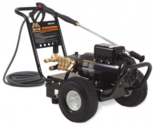 Mi-T-M Jp-1502-3Me1 Jp Series Cold Water Electric Direct Drive, 2.0 Hp Motor, 120V, 17A, 1500 Psi Pressure Washer