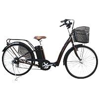 電動自転車 26インチ ブラウン 452assist