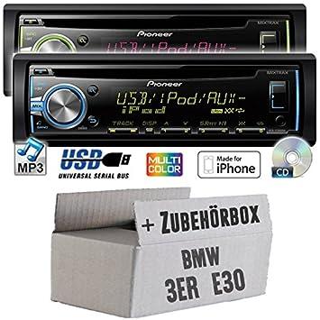 BMW série 3 e30 pioneer dEH-x3800UI-cD/mP3/uSB avec kit de montage