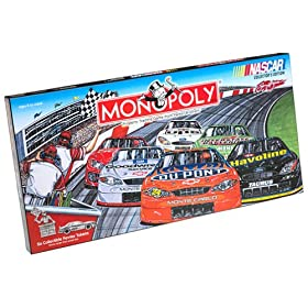 Monopoly NASCAR Editions