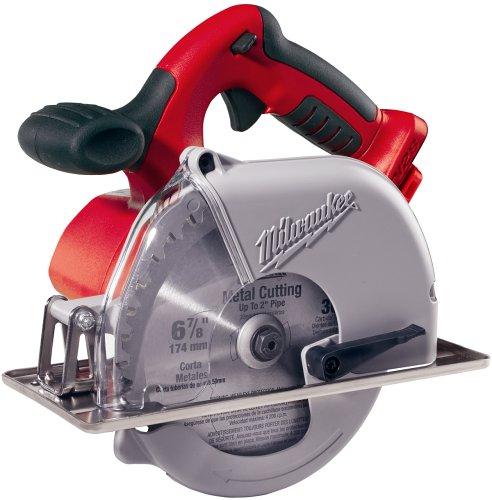 BareTool Milwaukee 074020 V28 Lithium 67/8Inch Cordless Metal Cutting Circular Saw (Tool Only, No Battery)