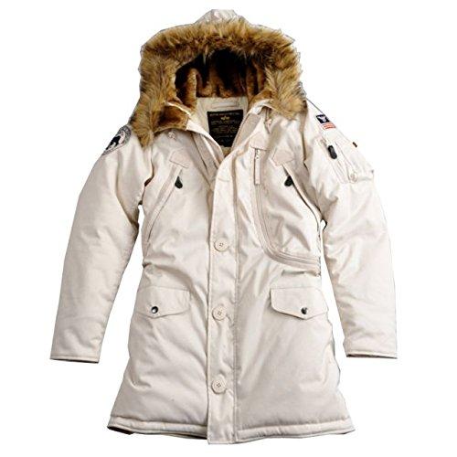 Alpha Ind. Frauen-Jacke Polar Jacket Wmn – off white kaufen