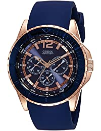 guess watches online buy guess watches at best prices in guess analog blue dial men s watch w0485g1