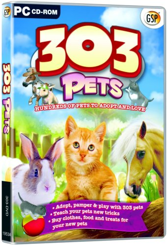 303 Pets - Includes Bunny, Kitty and Pony  (PC)