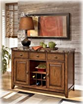 Hot Sale Contemporary Medium Brown Lacey Dining Room Server