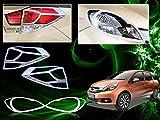 Chrome Plated Premium Quality Accessories For Honda Mobilio - Set Of 2 Pcs.