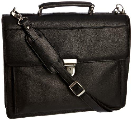 Leonhard Heyden Unisex Adult Stuttgart Briefcase Black Lh5443-001 S
