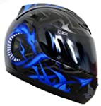 Integralhelm Helm Motorradhelm RALLOX...
