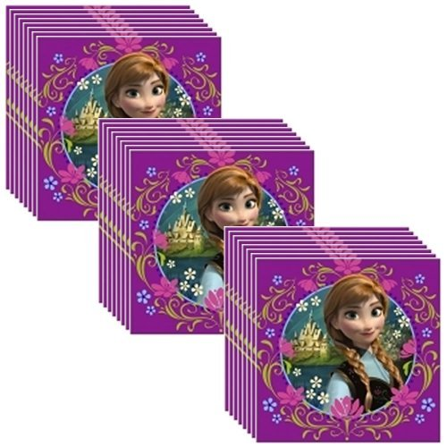 Disney Frozen Party Lunch Napkins - 24 Guests