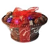 Chocolate Truffle Gift Basket - 60 Piece Chocolate Truffle Assortment - Majestic by Dilettante
