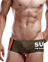 SEOBEAN Mens Swimwear Boxer Brief SURF pt trunk swim 2249