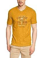 C.P.M. Camiseta Manga Corta 3S75357 (Mostaza)