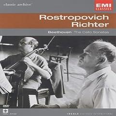 Collection Classic Archive : Mstislav Rostropovitch et Sviatoslav Richter (Beethoven - Intégrale des sonates pour violoncelle et piano) - DVD